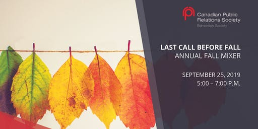 Last Call Before Fall Annual Mixer