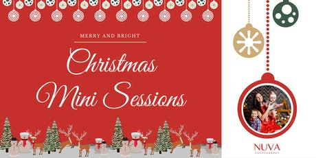 Christmas Mini Sessions by Nuva Photography tickets