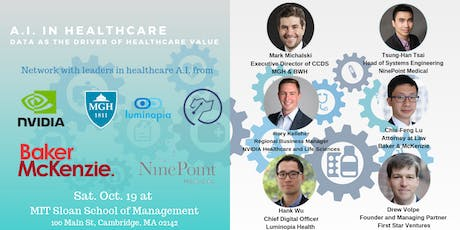 A.I. in healthcare : Data as the driver of healthcare value tickets