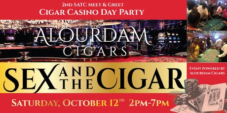 2nd Satc DC Meet And Greet Cigar Casino Day Party tickets