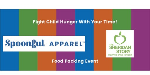 Spoonful Apparel Packing Event at The Sheridan Story