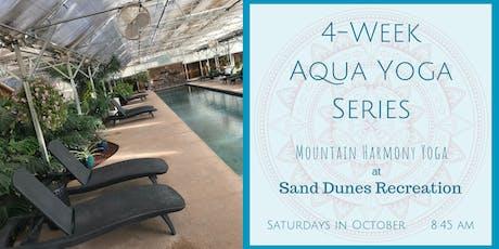 4 Week Aqua Yoga Series tickets