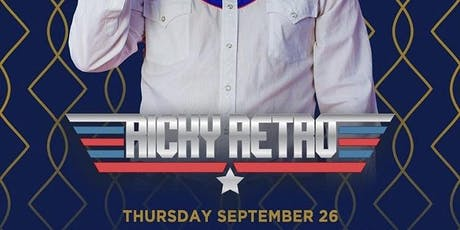 Ricky Retro @ Noto Philly Sept 26 tickets