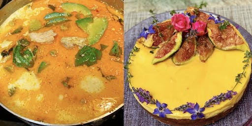 Oct 26th Thai curry and cheesecake class $35