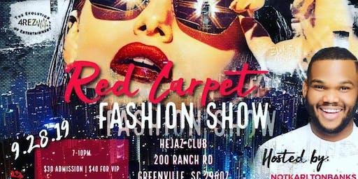 A Red Carpet Fashion Show starring Comedian Karlton Banks