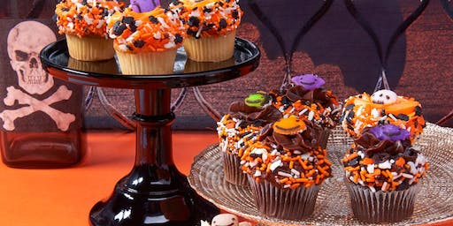 Kids Halloween Cupcake Decorating Event