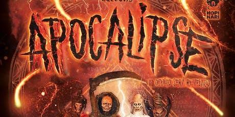 Hopi Hari Hora do Horror Apocalipe ingressos