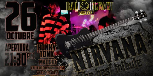 RADIOBLEACH TRIBUTO A NIRVANA EN HONKY TONK MADRID