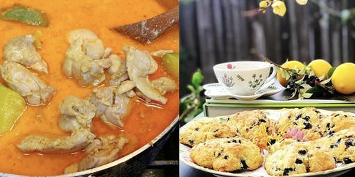 October 19th Parent/child class Thai curry and scones $55/2 people