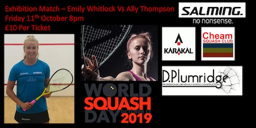 Exhibition Squash Match - Emily Whitlock Vs Ally Thompson