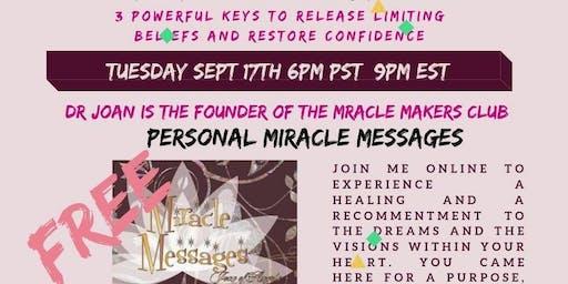 Awaken To Miracles - Release Your Limiting Beliefs