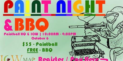 ICW Paint Night & BBQ