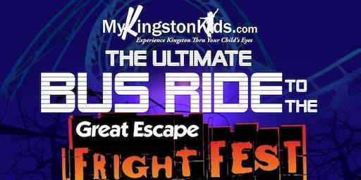 MyKingstonKids Great Escape Fright Fest Bus Ride