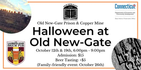 Halloween at Old New-Gate tickets
