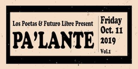 """Los Poetas & Futuro Libre Present """"Pa'Lante"""" tickets"""