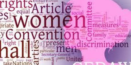 Focus Group - CEDAW 2019 and Women's Rights in UK Public Law and Commissioning  tickets