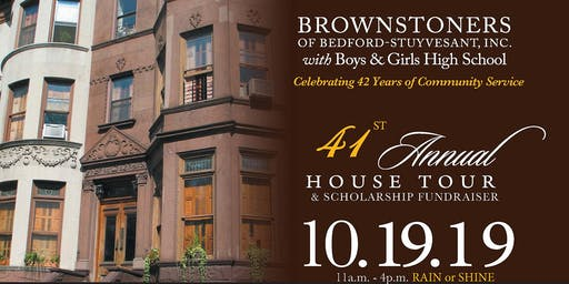 Brownstoners of Bedford-Styuvesant, Inc. 41st Annual House Tour