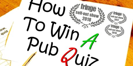 How To Win A Pub Quiz At Lambicus Bar entradas