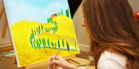 Sip and Paint - Tuscany tickets