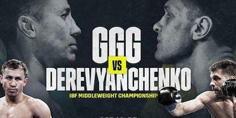 """Gennady Golovkin """"GGG"""" vs. Sergiy Derevyanchenko ( Showing @ SkyBox Htown ) tickets"""