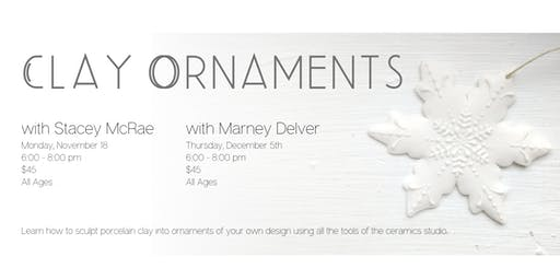 Create Porcelain Ornaments with Marney Delver