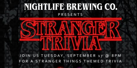 Stranger Things Trivia tickets