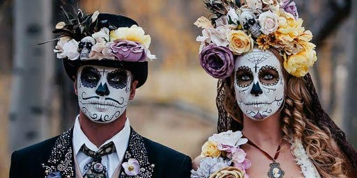 """Day of the Dead""  A Mexican Celebration of the life and death of someone"