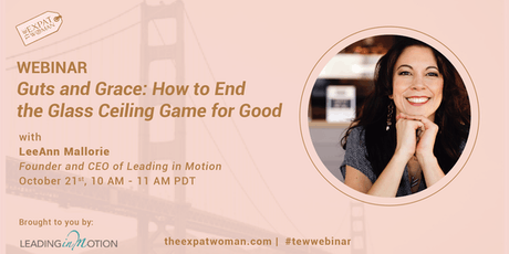 FREE Webinar: How to End the Glass Ceiling Game for Good  tickets