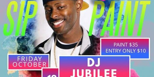 Return to the 90s Sip and Paint ft DJ Jubilee