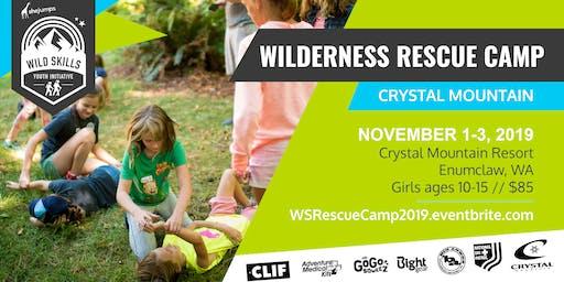 WILD SKILLS Wilderness Rescue Camp
