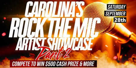 carolina's rock the mic artist showcase pt 2 tickets