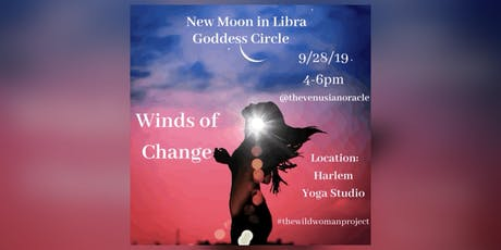 New Moon In Libra: Goddess Circle tickets