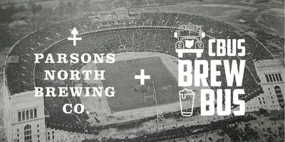 OSU Football Shuttle Bus from Parsons North Brewing Company