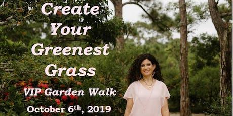 Create Your Greenest Grass VIP Morikami Garden Walk tickets