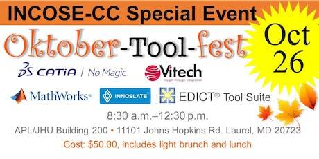 The Systems Engineering Oktober-Tool-fest  (Saturday Vendor Presentations) tickets