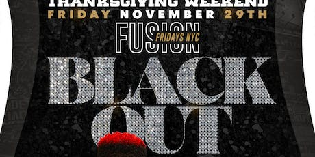 BLACK OUT Fusion Fridays NYC at Maracas Nightclub tickets