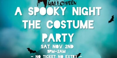 A Spooky Night The  Costume Party
