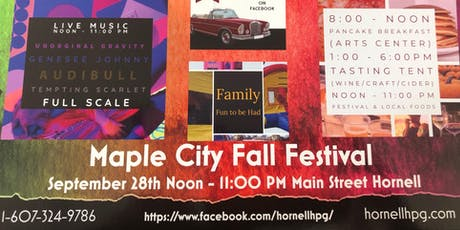 Hornell Maple City Fall Festival tickets