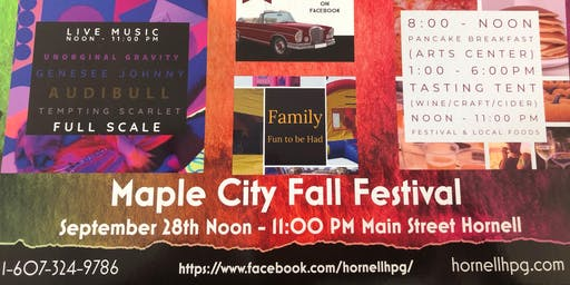 Hornell Maple City Fall Festival