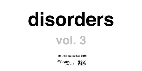 Disorder Vol. III tickets