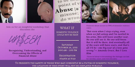 Unseen: An Economic Abuse Domestic Violence Workshop tickets
