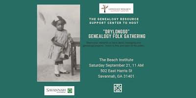 """Drylongso"" Genealogy Folk Gathering at the Beach Institute."