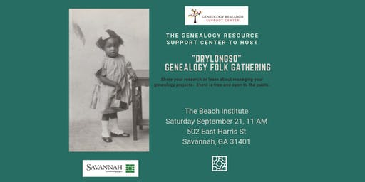 """Drylongso"" Genealogy Folk Gathering at the Beach Institute."