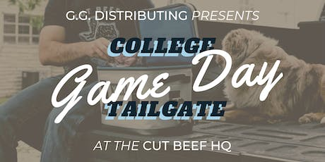 College Game Day Tailgate tickets