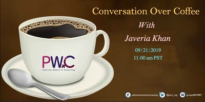 PWiC SV: Conversation over Coffee With Javeria Khan
