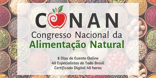 6° Congresso Nacional da Alimentação Natural (Acesso VIP)
