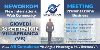 Neworkom (fine settembre)