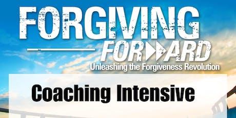 FORGIVING FORWARD COACHING INTENSIVE tickets