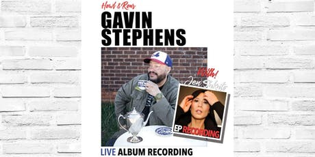 Gavin Stephens with Jen Sakato tickets