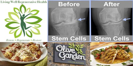 Free Stem Cell Seminar and Lunch - Olive Garden Woodbridge - Wed 9/25 12-1p tickets